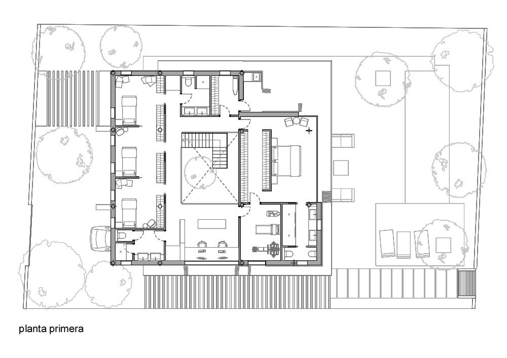 Arquitectura sostenible en casa pasiva ecologica